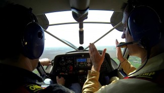 Політ на літаку Swift K-10, Дніпро, Запоріжжя