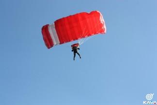"""Прыжок с парашютом по программе """"Static Line"""""""