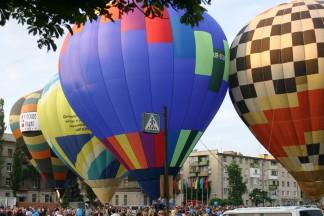 Політ на повітряній кулі, Київ