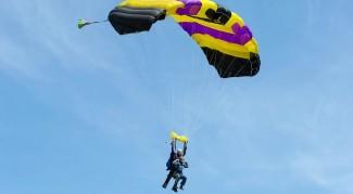 Прыжок с парашютом из Запорожья, Тандем, 4200м