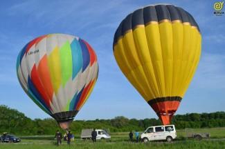 Полет на воздушном шаре, из Запорожья
