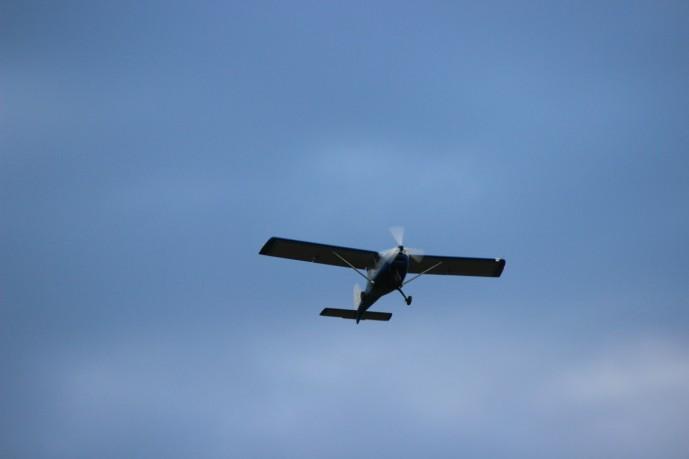 Полет на самолете Swift K-10