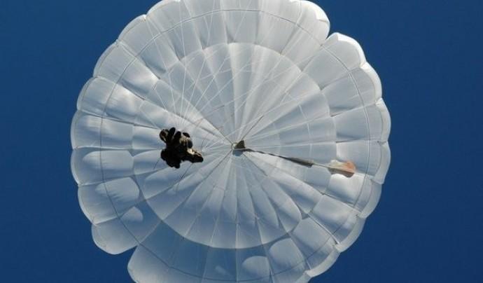 Прыжок с парашютом с 600-800 метров